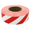 Presco Striped Flagging Tape - Red/White