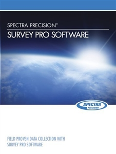 Spectra Precision Survey Pro (For Ranger,Nomad,T41) Field Software