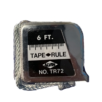 Alvin TR72 Pocket Tape Measure - Inches/Metric