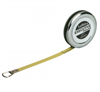 "Lufkin 1/4"" x 6' Executive Diameter Yellow Clad A19 Blade Pocket Tape Measure"