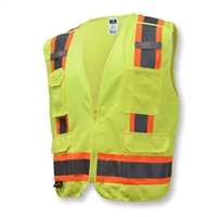 Radians SV46 Surveyor Type R Class 2 Breakaway Lime Safety Vest