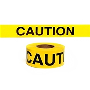"Yellow ""Caution"" Tape"
