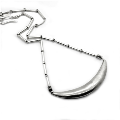 Chang Necklace photo. Handcrafted with fine and sterling silver.
