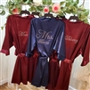Personalized Bridal Party Robes