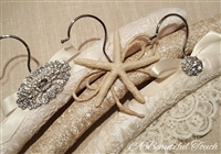 Unique Fabric Bridal Hangers