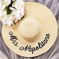 Personalized Wide Brim Hat