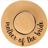 Mother of the Bride Floppy Beach Hat