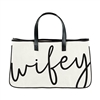 Wifey Oversized Tote