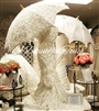 Christina Bridal Form and Parasol Rental