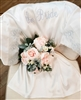 The Bride Satin Robe with Lace
