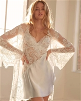 Lace Robe and Chemise Set
