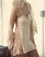 Gorgeous Chemise and Lace Robe Set