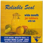 WIDE MOUTH JAR RUBBERS