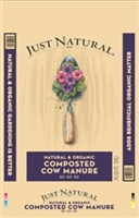 JOLLY GARDENER JUST NATURAL ORGANIC COMPOSTED MANURE .75CF