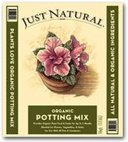 JOLLY GARDENER JUST NATURAL ORGANIC POTTING MIX 1CF