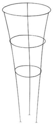 TOMATO CONE 3 RING, GALVANIZED STEEL, 33 INCH