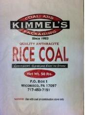 Rice Coal 50lb