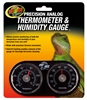 ZOOMED TH-22 DUAL THERMOMETER/HUMIDITY GAUGE