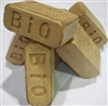 BIO BRICK COMPRESSED WOOD FUEL BRICKS, 2LB BRICKS, 20 PER PACKAGE