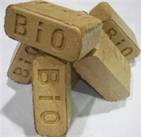 BIO BRICK COMPRESSED WOOD FUEL