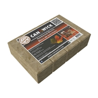 CANAWICK 100% HARDWOOD FIRE BLOCKS, 4 BLOCKS/PKG, 24LB