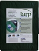 KOTAP HEAVY DUTY TARP 10X12 FT GREEN/SILVER 8 MIL