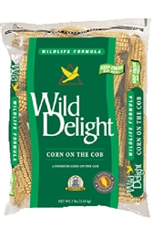 WILD DELIGHT CORN ON THE COB 7LB BAG