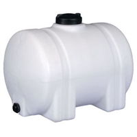 NORWESCO #45191 HORIZONTAL LEG TANK, 65 GALLON