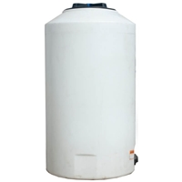 NORWESCO #40281 VERTICAL TANK, 165 GALLON