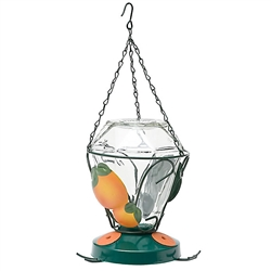 PERKY PET DELUXE HAND PAINTED ORIOLE FEEDER 24OZ
