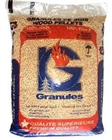 LG Granules Softwood Wood Pellets, 40lb