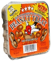 C AND S PRODUCTS SUET PEANUT TREAT 11 OZ