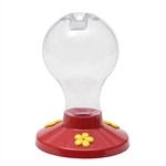 PERKY PET PLASTIC HUMMINGBIRD FEEDER WITH NECTAR 16OZ