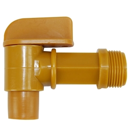 POLY FAUCET FOR DRUMS 3/4 IN