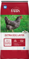 BLUE SEAL HOME FRESH EXTRA EGG PELLET 25LB