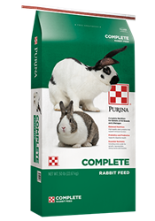PURINA COMPLETE RABBIT FEED 25LB