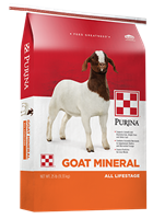 PURINA GOAT MINERAL SUPPLEMENT 25LB