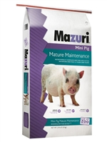 MAZURI 5Z4B MINI PIG MATURE MAINTENANCE 25LB