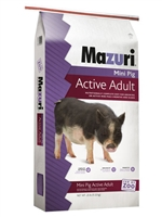 MAZURI MINI PIG ACTIVE ADULT 25LB