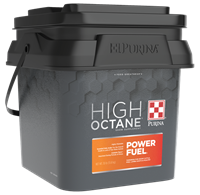 PURINA HIGH OCTANE POWER FUEL TOPDRESS SHOW SUPPLEMENT 30LB PAIL