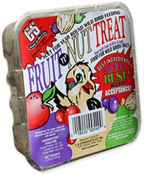 C AND S PRODUCTS SUET DOUGH FRUIT & NUT TREAT 11.75OZ