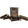CANAWICK 100% HARDWOOD FIRE LOGS, 12 LOGS/PACKAGE, 25LB PACKAGE