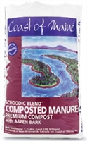 COAST OF MAINE SCHOODIC BLEND COMPOSTED MANURE 1CF