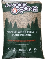 Wood & Sons Softwood Wood Pellets, 40lb bag