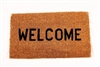 "FLOOR MAT COCOA FIBER ""WELCOME"""