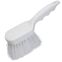 DAIRY BRUSH POLY GONG, NYLON BRISTLE, 9 IN