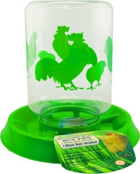 Lixit Combo Chicken Waterer/Feeder 64oz
