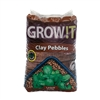 HYDROFARM GROW!T CLAY PEBBLES 4 MM-16 MM, 40L/28 LB BAG