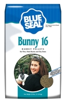 BLUE SEAL BUNNY 16 RABBIT PELLET 25LB BAG
