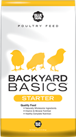 BLUE SEAL BACKYARD BASICS STARTER CRUMBLE 50LB